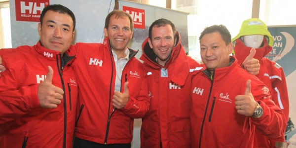 Team Sanya Technical Clothing by Helly Hansen