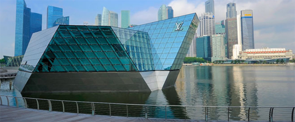 Louis Vuitton Singapore island