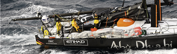 First 24 Hours of Volvo Ocean Race
