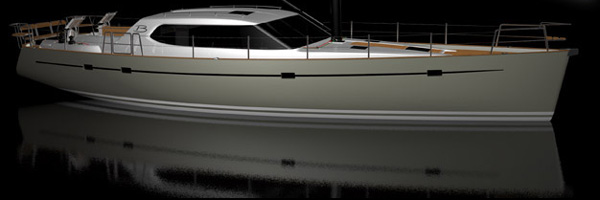 New Buizen 52 Sailboat launched.