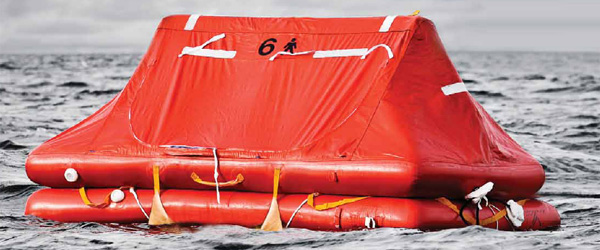 ISO Rated liferaft