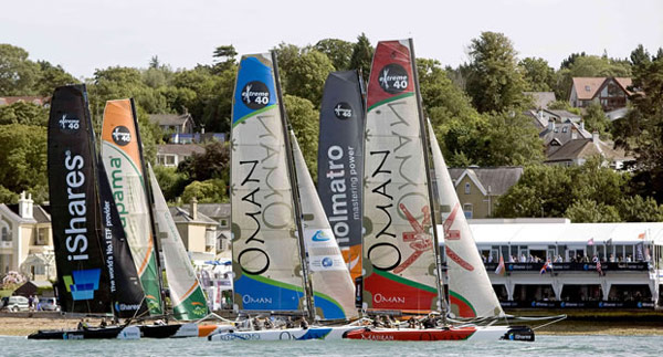 Live Stream of Extreme 40s at Cowes