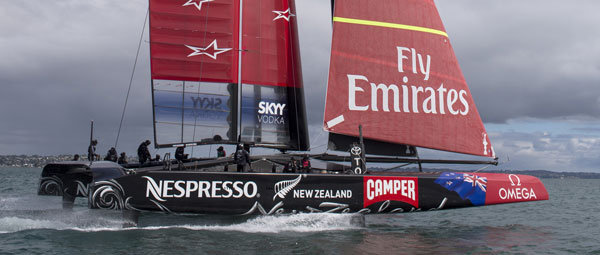 Camper Sponsors Emirates Team NZ