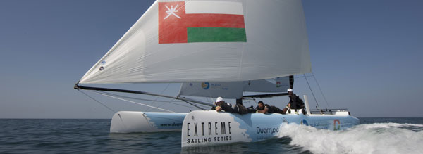 North Sails do Extreme Sailing Series Deal